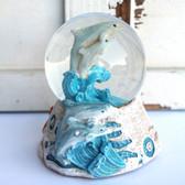 Dolphin Snow Globe