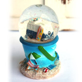 VW Bus Snow Globe