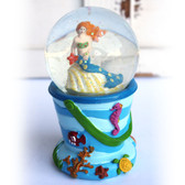 Mermaid Beach Pail Snow Globe