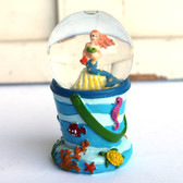Mini Mermaid Beach Pail Snow Globe