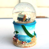 Mini VW Bus Snow Globe