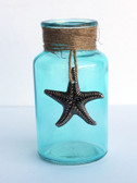 Pewter Starfish Bottle
