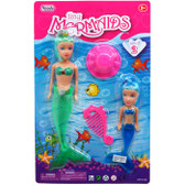 Tiny Mermaids Doll Set