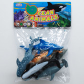 Sharks and Whales Toy Set