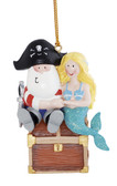 Santa Pirate & Mermaid Ornament