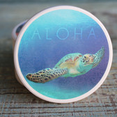Aloha Sea Turtle Car Coaster