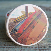 California Surfboards Car Coaster