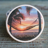 CA Hammock at Sunset car coaster