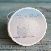 California Sand Dollar car coaster