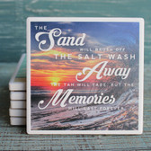 Sand, Salt & Memories Coaster