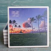 Palms at Sunset Coaster