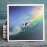 Surfer in Tube Coaster