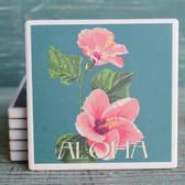 Aloha Hibiscus Coaster