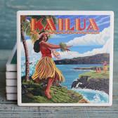 Kailua Hula Girl Coaster