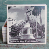 King Kamehameha Statue Coaster