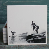 Surfers Photograph Coaster