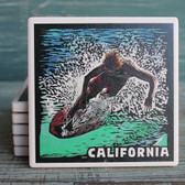 California Surfer Coaster