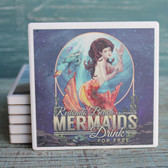 Redondo Beach Mermaids Drink Free Coaster