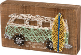 I'm Moving to the Beach - VW Bus String Art