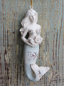 Rustic Mermaid Ornament