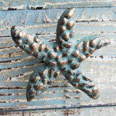 Green Starfish Iron Knob