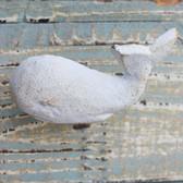 White Whale Iron Knob