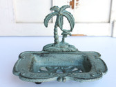 Palm Tree Iron Soap Dish