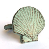 Green Scallop Napkin Ring