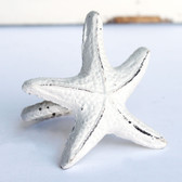 White Starfish Napkin Ring