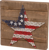 Stars & Stripes String Art