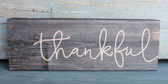 Thankful Wood Sign
