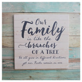 Our family is like the branches of a tree...