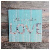 All You Need is Love Trivet Sign