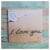 I Love You Trivet Sign