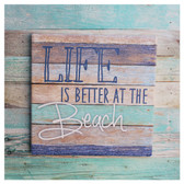 Life is Better at the Beach Trivet Sign