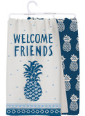 Welcome Friends Pineapple