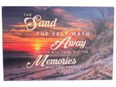 Sand... Memories Wood SIgn