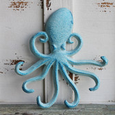 Blue Octopus Iron Hook