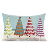 Four Beach Umbrella Pillow