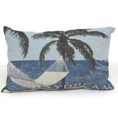 daydream   hammock throw pillow daydream throw pillow   coastal home decor accent   california      rh   caseashells
