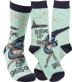 Bottom's Up Mermaid Socks