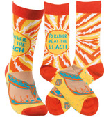 I'd Rather Be at the Beach Socks