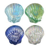 Glass Scallop Shells