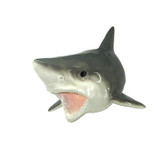 "12"" Resin Wall Shark Figure"