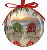 Adirondack Chair Ball Ornament