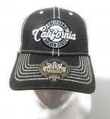 California Gray Oilskin Mesh Hat