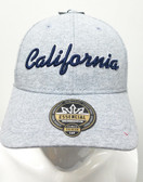 California Light Gray and Navy Hat