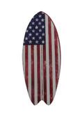 American Flag Surfboard  Magnet