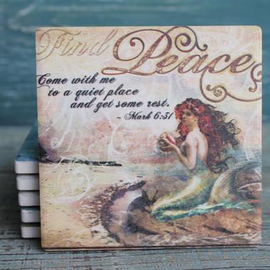 Mermaid Thoughts Coaster Set