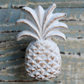 White Iron Pineapple Knob